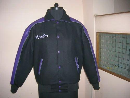Black caliber india Woolen Jacket