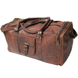 Buffalo Leather Travel Bag