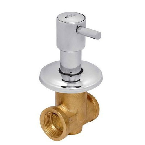 Parker Brass Flus Cock With Flange
