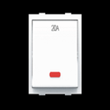 Favio X1 One Way Switch With Indicator (led)