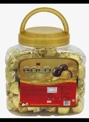Chocklate Gold Chocolate, Packaging Size: Round, Prescription