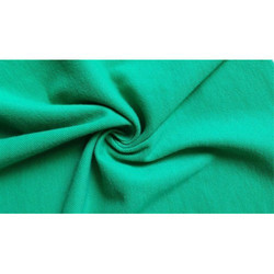 Green Pique Knitted Fabric, Use: Undergarments, Sweaters, Blankets, Swimsuits