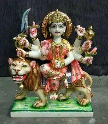 Durga Mata Ji Marble Statue