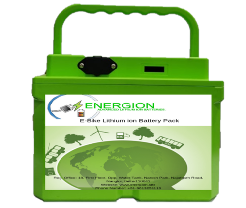 Energion E-Bike 60v , 20ah Lithium Ion Battery, Battery Type: Lithium-ion, Model Name/Number: En Nmc 6020
