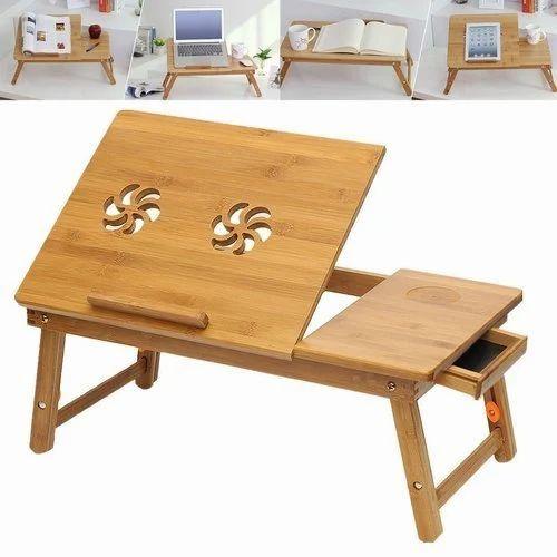 Genial HomeEkart 53 58cm / 21inch 23inch Wooden Laptop Table