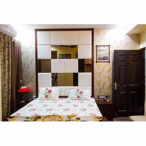 Pvc Master Bedroom Wall Square Panel Rs 1400 Square Feet Fk Interior Id 20357339297