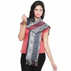 Circles n Chequered Style Stole 167