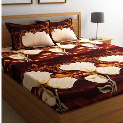Ammaya Printed 3d Double Bed Sheet