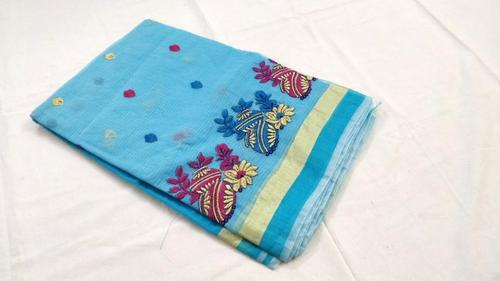 e635877f8a Kota Cotton Saree With Embroidery Design at Rs 1400 /piece | Kota ...