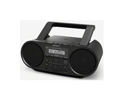 Sony ZS-RS60BT MP3 CD Radio Player with USB - Black