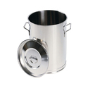 Shree Sai Engineering Silver Round Steel Container