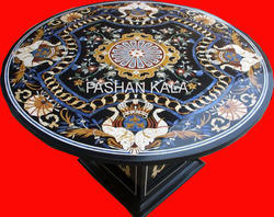 Italian Inlay Marble Table Top