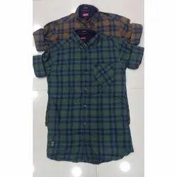 Trap Regular Wear Full Sleeve Check Shirt, Size: S, M, L, Xl, Machine wash