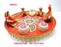 Gujarati Marriage Pokhvani Ni Thali