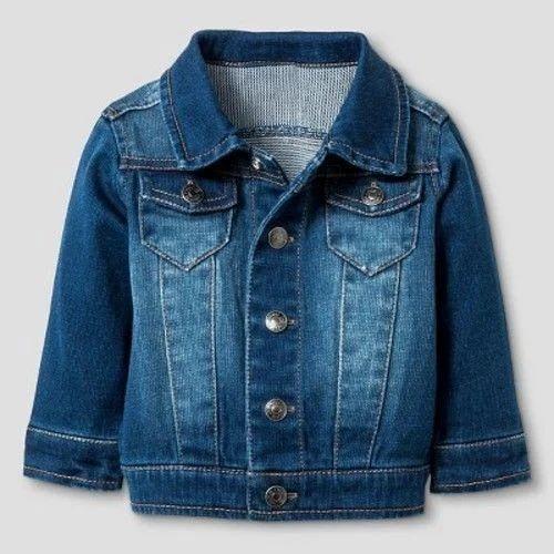 7e6354043bad1 Blue Kids Denim Jacket