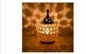 Decorative Brass Crystal Oil Lamp