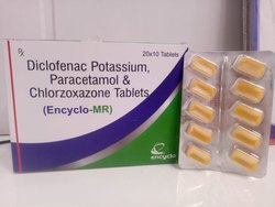 Diclofenac Sodium Chlorzoxazone & Paracetamol Tablets