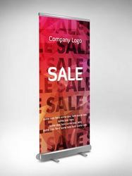 Roll Up Floor Standee