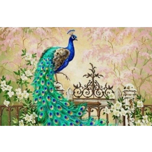 Vinyl Peacock Wallpaper, Rs 130 /square Feet, SRCM Wall