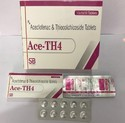 Aceclofenac 100mg   Thiocolchicoside 4mg Tablets