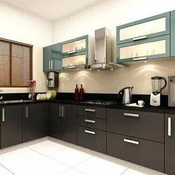 Stylish Black Kitchen