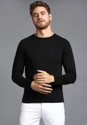 ROUND NECK FULL SLEEVE T SHIRT -190 GSM