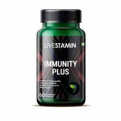 Immunity Plus Capsules with Herbal Extracts Immune Support Supplement