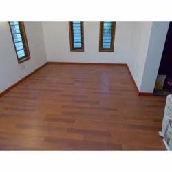 Trusa Brown Indoor Wooden Flooring, for Indoor