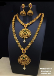 Matte Finish Jewellery Set Combo Set 13