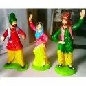 Bhangra Couple Statue Gift Item