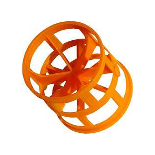 Orange PVC Pall Ring