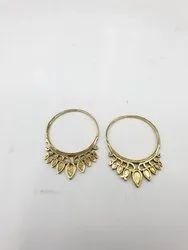 Brass Hippie Earring