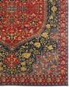 Hand-Knotted Wool Red Traditional Oriental Heriz Rugs