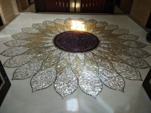 Mother Of Pearl Inlay Flooring