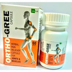 Herbal Pain Reliever Capsules for Joints & Muscles