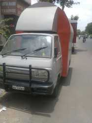 Maruti Omni Is Modified As A Food Van (Only Fabrication work)