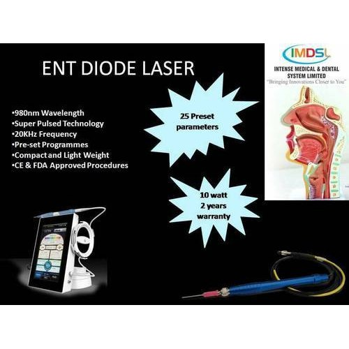 10 Watt Ent Diode Soft Tissue Laser