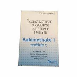 Kabimethate 1 million IU (Colistimethate Sodium for injection IP)