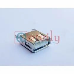 USB AF 4 Pin 180 Degree Connector