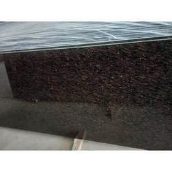 Brown Big Cat Eye Granite Slab, Thickness: 15-20 mm