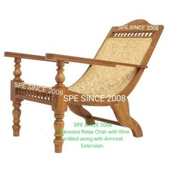 Teak Wood Specific Wooden Relaxing Chair