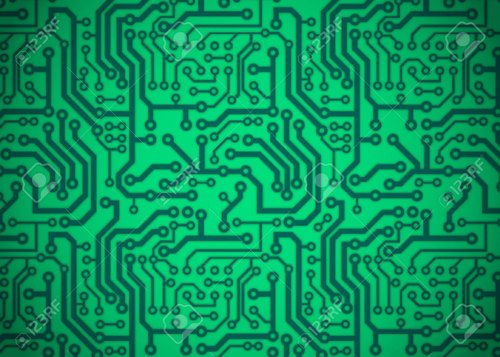 FR4 Single Sided Printed Circuit Board for Electronics