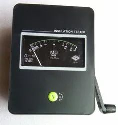hand operated insulation tester