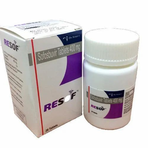 Resof 400mg Tablets ( Sofosbuvir 400mg tablets - Dr.Reddys)