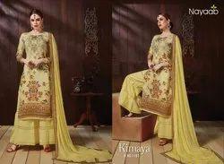Nayaab Satin Sharara Suit
