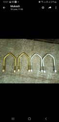 Mild Steel V Bolt, Size: 16mm 18mm 20mm