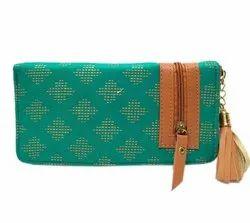 Multicolor Cotton Jaipuri Print Book Style Clutch Bag, Size: 8