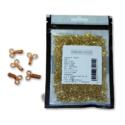Jyoti Dress Hook (Brass) - Golden 2 Wire