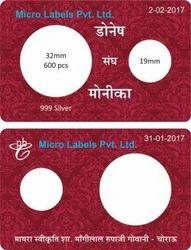 Silver Coin Card
