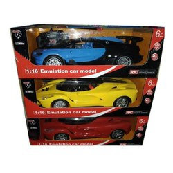Multicolor Plastic Emulation Car Toys, For Playing Kids